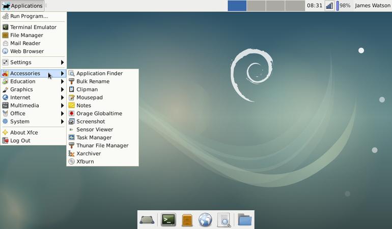 En Popüler Linux Dağıtımları - Debian